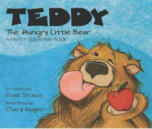 Teddy book cover.